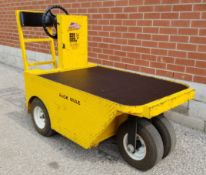 PACK MULE SC7756SA 36V TRI-WHEEL RIDE-ON ELECTRIC ORDER PICKER CART WITH 1200 LB. CAPACITY, CHARGER,