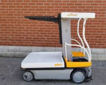 """CROWN (2010) WAV50-118 250 LB. CAPACITY ELECTRIC ORDER PICKER WITH 118"""" MAX. LIFT HEIGHT, 2070"""