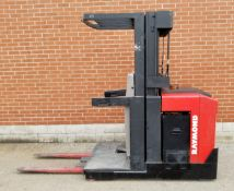 """RAYMOND EASI-OPC30TT 3000 LB. CAPACITY 24V ELECTRIC ORDER PICKER FORKLIFT WITH 183"""" MAX. VERTICAL"""