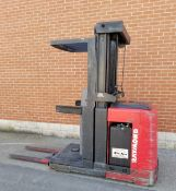 """RAYMOND (2008) 5200-OPC 3000 LB. CAPACITY 24V ELECTRIC ORDER PICKER FORKLIFT WITH 210"""" MAX. VERTICAL"""
