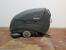 ENCORE EN-007700A 36V WALK-BEHIND ELECTRIC FLOOR SCRUBBER WITH 536 HRS (RECORDED ON METER AT TIME OF
