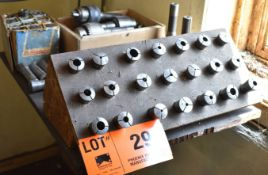 LOT/ MILL TOOLING, COLLETS AND TAPPING HEADS