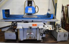 """PROTH PSGS-4080AH HYDRAULIC SURFACE GRINDER WITH 24""""X16"""" ELECTROMAGNETIC CHUCK, INCREMENTAL DOWN"""