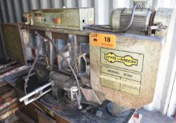 """HYD-MECH S-20 AUTOMATIC HORIZONTAL BAND SAW WITH 13""""X18"""" MAX. CAPACITY, 35""""/MIN MAX. FEED RATE,"""