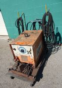 AIRCO PORTABLE STICK WELDER WITH CABLES AND GUN, S/N: 1341-0271