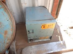 GULLCO MODEL 125 ELECTRODE STABILIZING OVEN WITH 550 DEG. F. MAX. TEMPERATURE, S/N: G0V21103
