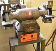 """WISSOTA E-7 7"""" DOUBLE END BENCH GRINDER WITH STAND, S/N: W5-83"""