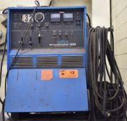 MILLER SYNCROWAVE 300 STICK WELDER WITH CABLES AND GUN, S/N: N/A