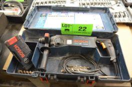 BOSCH 11224VSR ELECTRIC ROTARY HAMMER DRILL SET