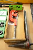 RIDGID No 2A/202 MANUAL PIPE CUTTER WITH REAMER