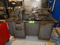 """HARDINGE HLV-H SUPER PRECISION TOOL ROOM LATHE WITH 11"""" SWING, 18"""" BETWEEN CENTERS, 1"""" BORE,"""