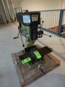 KBC RS-30 COMBINATION BENCH TYPE MILLING AND DRILLING MACHINE WITH SPEEDS TO 2500 RPM, S/N 3447