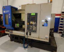 HITACHI (1999) VS50 CNC 4 AXIS READY VERTICAL MACHINING CENTER WITH SEICOS (FANUC) 16IM CNC CONTROL,