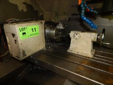 """8"""" 4TH AXIS ROTARY TABLE WITH TAILSTOCK, S/N N/A (CI)"""