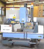 "LEADWELL MCV-1300P CNC VERTICAL MACHINING CENTER WITH FANUC SERIES O-M CNC CONTROL, 27.50"" X 66."