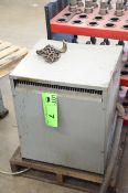 REX 34KVA/590-220-127V/3PH/60HZ TRANSFORMER, S/N N/A (CI) [RIGGING FEES FOR LOT# 7 - $150 PLUS