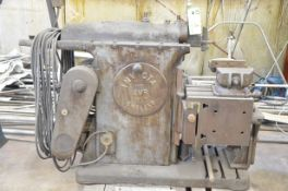 """INVICTA 4MR 18"""" HORIZONTAL SHAPER WITH VISE, S/N: N/A (CI) [RIGGING FEES FOR LOT# 4 - $500 PLUS"""