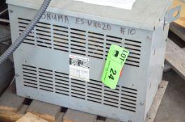 REX 34KVA/590-220-127V/3PH/60HZ TRANSFORMER, S/N N/A (CI) [RIGGING FEES FOR LOT# 24 - $150 PLUS