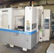 OKUMA MA-40HA CNC TWIN PALLET HORIZONTAL MACHINING CENTER WITH OKUMA OSP U-100M CNC CONTROL, 15.