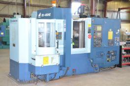 MATSUURA ES-450HII CNC MULTI PALLET HORIZONTAL MACHINING CENTER WITH FANUC SYSTEM 18 IM CNC CONTROL,