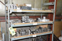 LOT/ CHUCK JAWS WITH RACK