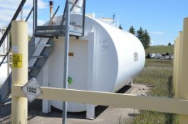 CLEMMER INDUSTRIES 25,000 LITER CAPACITY DOUBLE WALL ABOVE GROUND FUEL STORAGE TANK, S/N 100707 [