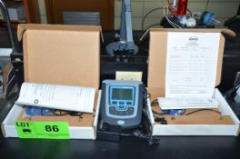 HACH HQ430D DIGITAL SINGLE INPUT MULTI PARAMETER PH & CONDUCTIVITY METER WITH PROBES, S/N N/A [
