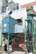 FARR GS-8 CYCLONIC TYPE DUST COLLECTOR, S/N 744968 [RIGGING FEE FOR LOT #58 - $850 USD PLUS