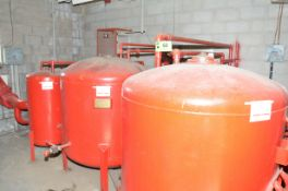 LOT/ (3) O'CONNOR FIRE RETARDANT HOLDING TANKS WITH VALVES AND ACTUATORS [RIGGING FEE FOR LOT #