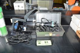 LOT/ HAND VACUUM PUMPS [RIGGING FEE FOR LOT #91 - $25 USD PLUS APPLICABLE TAXES]