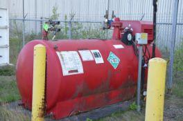CARDOX D464-3 2 3/4 TON CAPACITY CO2 STORAGE TANK, S/N K658 [RIGGING FEE FOR LOT #43 - $TBD USD PLUS