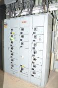 (4) BANK MOTOR CONTROL CENTER, S/N N/A [RIGGING FEE FOR LOT #54 - $350 USD PLUS APPLICABLE TAXES]