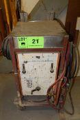 WELDCO150 AMPERE AC/DC MSM BUMBLEBEE ARC WELDER S/N: HJ128231