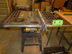 """TRADEMASTER 10"""" TABLE SAW S/A: N/A"""
