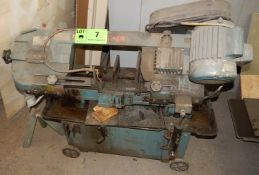 KBC MACHINERY HORIZONTAL BAND SAW S/N: N/A [RIGGING FEES FOR LOT #7 - $50 CDN PLUS APPLICABLE