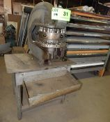 ROTEX 7325 18 STATION MANUAL TURRET PUNCH S/N: 36935 (CI) [RIGGING FEES FOR LOT #31 - $75 CDN PLUS