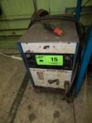 MILLER ECONO TWIN AC/DC ARC WELDER, S/N: HK260191 [RIGGING FEE FOR LOT #15 - $50 USD PLUS APPLICABLE