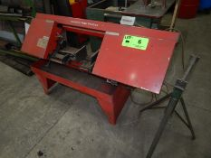 INDUSTRIAL HORIZONTAL BANDSAW, S/N: N/A [RIGGING FEE FOR LOT #6 - $50 USD PLUS APPLICABLE TAXES]