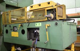 ALPHA ENTERPRISE A-600-24 PNEUMATIC FEEDER AND STRAIGHTENER, S/N: N/A [RIGGING FEE FOR LOT #71 - $