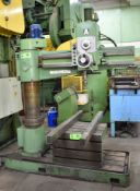 HMT RM/62 4' RADIAL ARM DRILL WITH SPEEDS TO 1750RPM, S/N: 4015 [RIGGING FEE FOR LOT #26 - $350