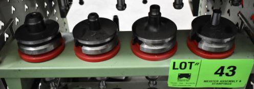 LOT/ (4) 50 TAPER TOOL HOLDERS