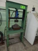 12-TON AIR OVER HYDRAULIC SHOP PRESS, S/N: N/A [RIGGING FEE FOR LOT #8 - $50 USD PLUS APPLICABLE