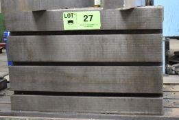 """24"""" X 30"""" X 20"""" T-SLOT BOX TABLE, S/N: N/A [RIGGING FEE FOR LOT #27 - $50 USD PLUS APPLICABLE"""