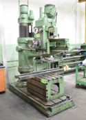 TOWN 5' RADIAL ARM DRILL WITH SPEEDS TO 1000RPM, S/N: 8812 [RIGGING FEE FOR LOT #24 - $750 USD