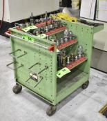 ROLLING TOOL HOLDER CART, S/N: N/A (NO CONTENTS) (LOCATED IN TORONTO, ON)