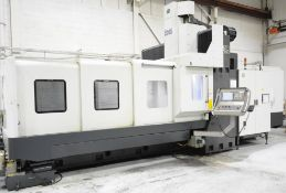 KAO MING (2013) KMC-318HIS, CNC DOUBLE COLUMN HIGH SPEED VERTICAL MACHINING CENTER WITH FANUC SERIES