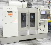 FIRST (2006) MCV-1000, CNC HIGH SPEED VERTICAL MACHINING CENTER WITH FANUC SERIES 18I-MB CNC