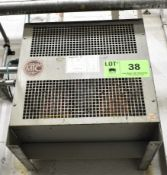 MARCUS 30KVA TRANSFORMER, S/N: 5129=607ENCL1 (LOCATED IN TORONTO, ON) (CI) [RIGGING FEE FOR LOT #
