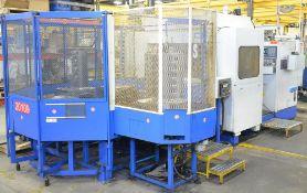 """OKUMA MC-600H CNC MULTI-PALLET HORIZONTAL MACHINING CENTER WITH OKUMA OSP7000M CNC CONTROL, 25"""""""
