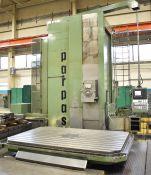 PARPAS ML-130/9000 CNC FLOOR-TYPE HORIZONTAL BORING/MILLING MACHINE WITH SIEMENS SINUMERIK CNC